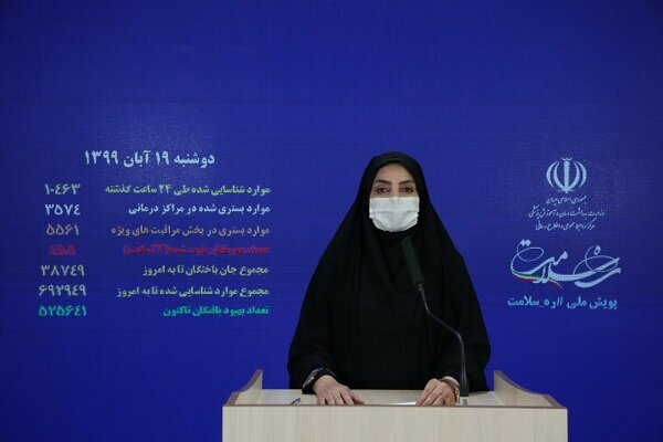 İran'da 546 bin 642 kişi koronavirüsü yendi