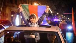Azerbaycan'da 'Karabağ' sevinci
