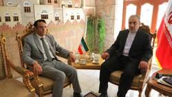 رئيس تكتل الأحزاب السياسية المناهضة للعدوان يلتقي السفير الإيراني بصنعاء
