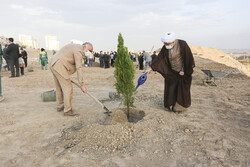 شہدائے قم کے نام  اور یاد کے عنوان سے 6090 پودے لگانے کا اہتمام