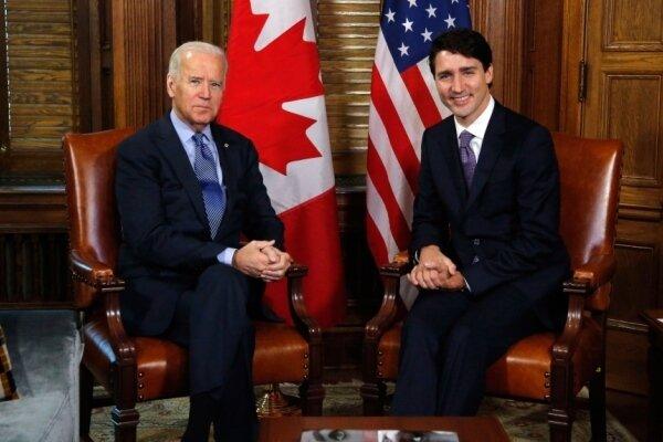 نخست وزیر کانادا با «جو بایدن» گفتگو کرد