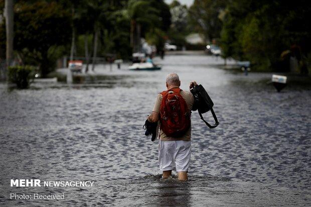 """إعصار """"إيتا"""" الذي يضرب أمريكا الوسطى /صور"""