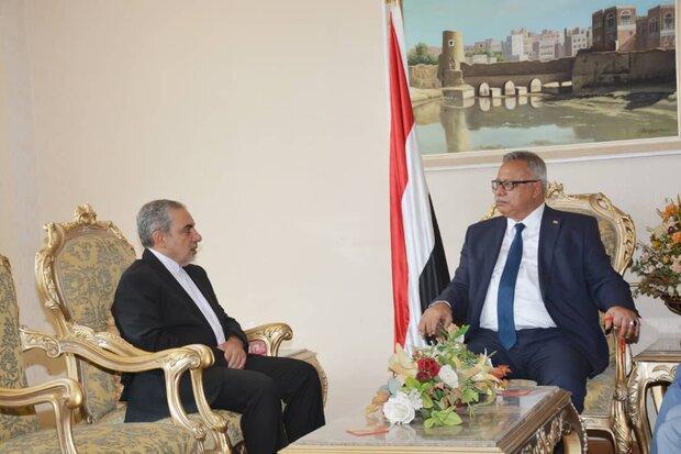 حضور سفیر ایران در یمن نشانگر موضع شجاعانه ایران است