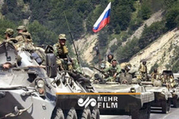 VIDEO: Arrival of Russian military forces to Nagorno-Karabakh