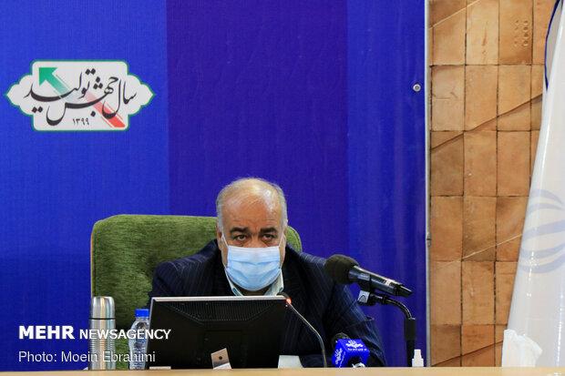 سفر سعید نمکی وزیر بهداشت، درمان و آموزش پزشکی به کرمانشاه - هوشنگ بازوند استاندار لرستان