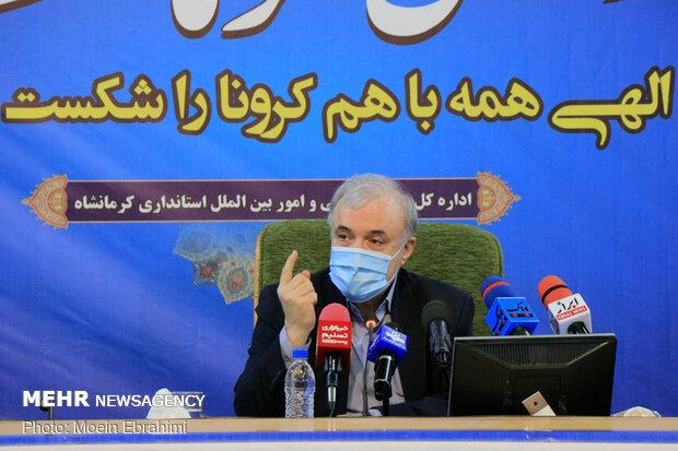 سفر سعید نمکی وزیر بهداشت، درمان و آموزش پزشکی به کرمانشاه