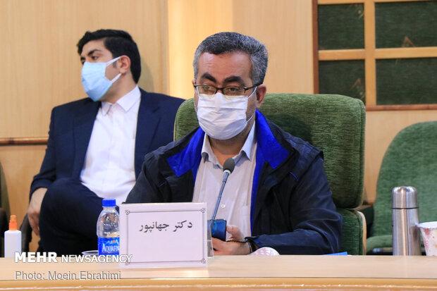 سفر سعید نمکی وزیر بهداشت، درمان و آموزش پزشکی به کرمانشاه - کیانوش جهانپور سخنگوی سازمان غذا و دارو