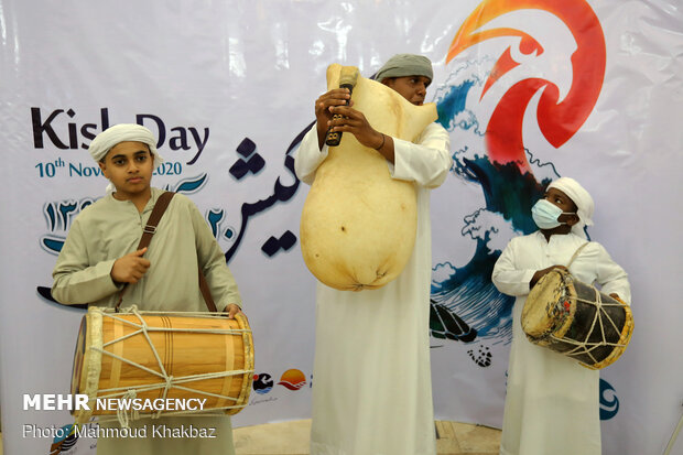 2020 Kish Day celebrated in Iranian islandکیش