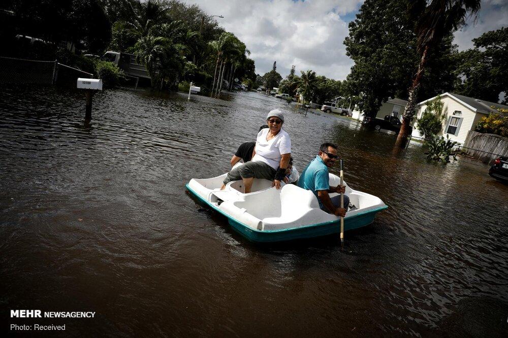 """إعصار """"إيتا"""" الذي يضرب أمريكا الوسطى"""