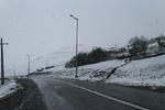 بارش برف در محورهای هراز و فیروزکوه/ تردد عادی و روان است