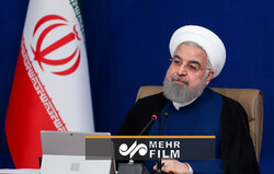 روحانی: حکومت نحس ترامپ تمام شد