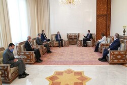 Assad, Khaji discuss Syrian developments, bilateral ties