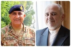 VIDEO: Meeting of Iran FM, Pakistani Army chief