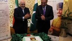 ایرانی وزیر خارجہ کی موجودگی میں علامہ اقبال کا جشن پیدائش منایا گیا