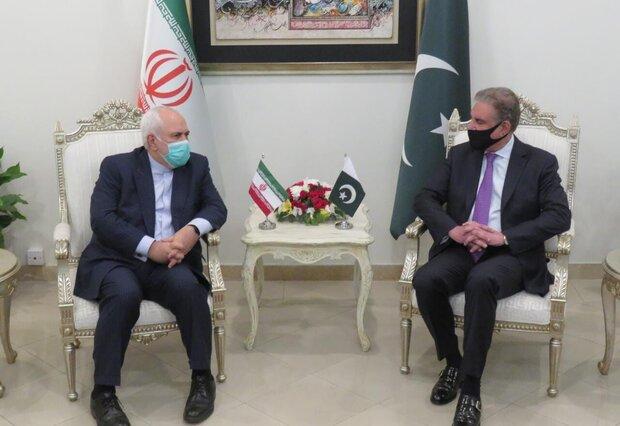 Iranian, Pakistani FMs meeting kicks off in Islamabad