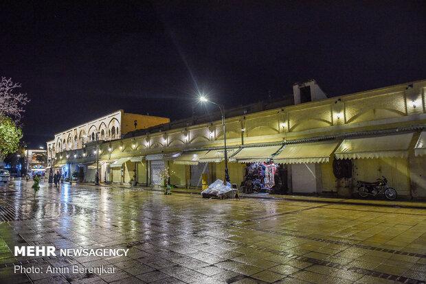دومین روز تعطیلی صنوف غیر ضروری شیراز در ساعت ۱۸
