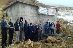 مخزن ۲۰۰ مترمکعبی منبع آب شرب و خط انتقال روستای«زرمان» افتتاح شد