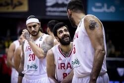 Iran basketball team