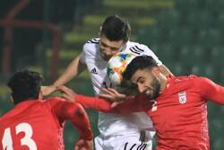 دیدار تیم های ملی فوتبال ایران و بوسنی