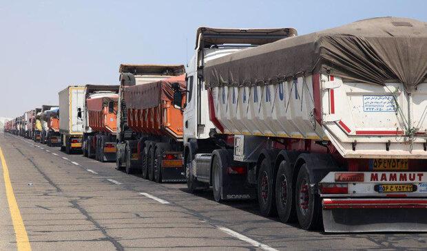 تصدير نحو 792 ألف طن من البضائع إلى العراق