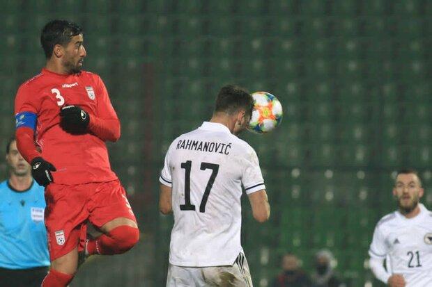 İran'dan dostluk maçında Bosna'ya iki gol