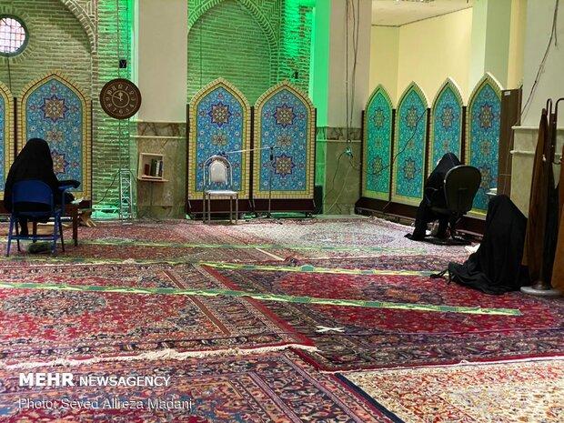 محفل مناجات در امامزاده قاضی الصابر (ع)