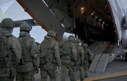 انتقال نیروهای حافظ صلح روسی به قره باغ