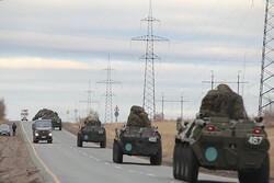 Rus askeri polisi, Karabağ'da devriye gezmeye başladı
