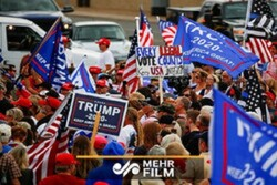 VIDEO: Trump's presence among his supporters in Washington