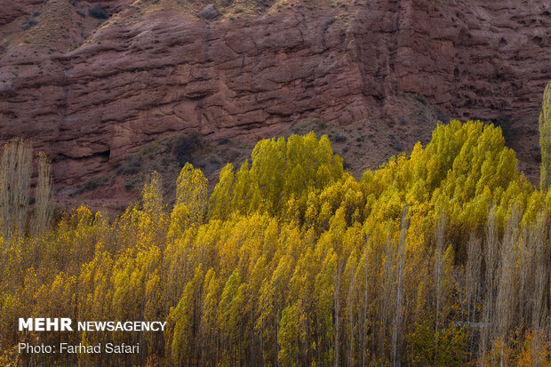 """Amazing nature of """"Alamut"""" in Autumn days"""