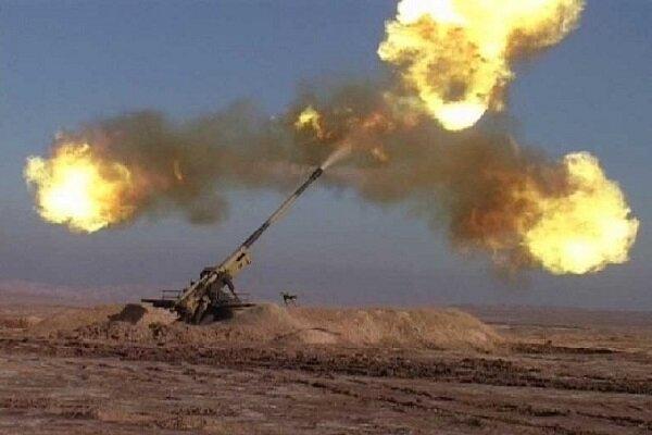 الحرس الثوري يدك بالمدفعية مواقع الزمر المناوئة للثورة الاسلامية