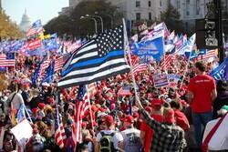 Trump's far-right supporters protest in Washington