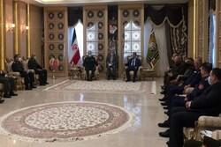Iranian, Iraqi military officials hold meeting in Tehran