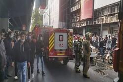 «آتش سیگار» دلیل آتش سوزی در پاساژ علاءالدین/اطفای کامل حریق