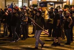 Protestors hold demonstration in Washington