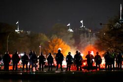 امریکہ میں صدر ٹرمپ کے حامیوں اور مخالفین میں تصادم