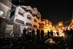 Zionist regime hits Gaza