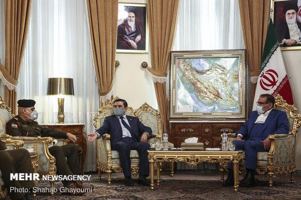 Shamkhani's meeting with Iraqi Defense Minister