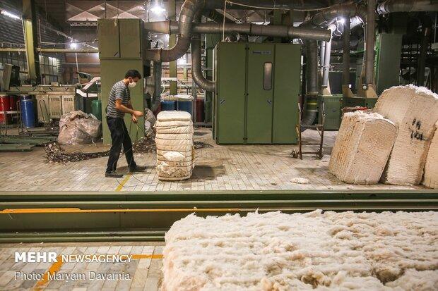 کارخانه های نخ ریسی در مانه و سملقان خراسان شمالی