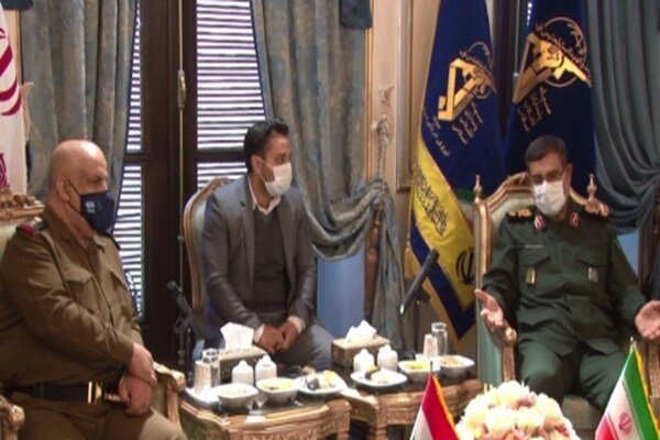 Iran ready for any kind of military coop. with Iraq's navy