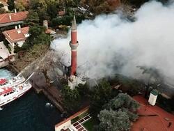 ترکی کی تاریخی مسجد کو آگ لگنے سے شدید نقصان پہنچا