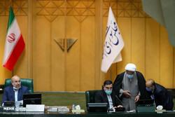 بدء جلسة البرلمان البرلمان الإيراني/ مناقشة خطة تعديل قانون الانتخابات الرئاسية