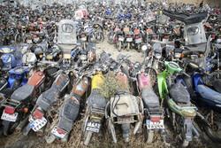 مالکان موتورسیکلت های رسوبی تنها تا پایان بهمن وقت دارند