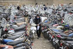 ترخیص ۲۳۴۲۴ موتورسیکلت رسوبی از ۱۸ آبان تا کنون