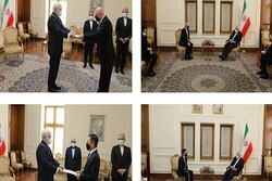 Slovakian, Thai, Japanese envoys submits credentials to Zarif
