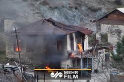 علت سوزاندن منازل بخشهای واگذار شده قرهباغ توسط ساکنان
