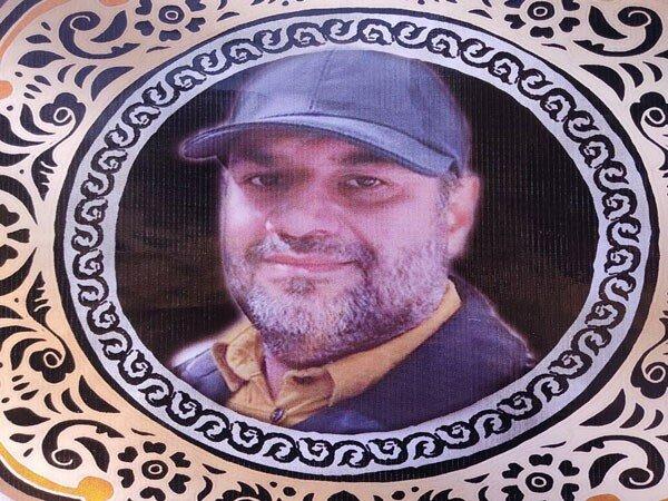 پیکر مدافع سلامت گلستانی تشییع و تدفین شد