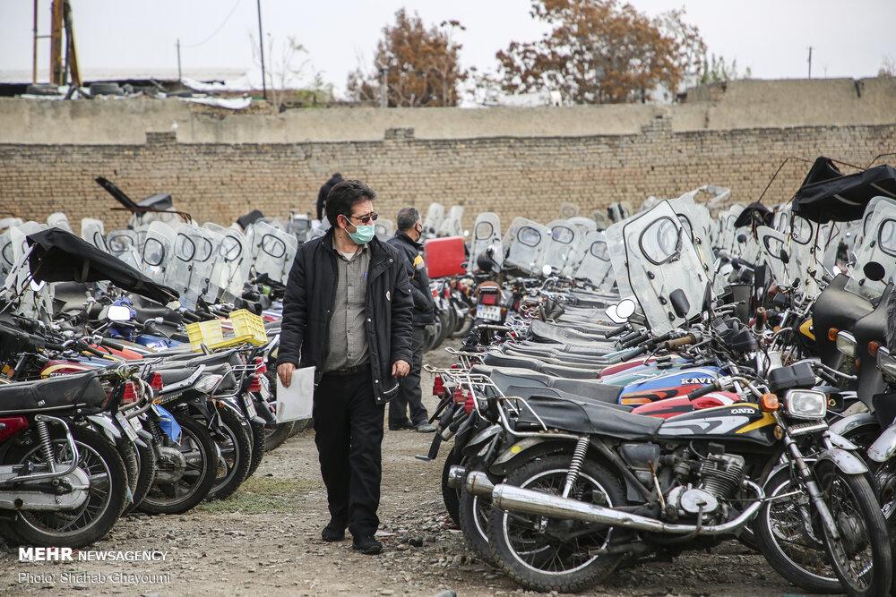 طرح ترخیص موتورسیکلتهای رسوبی تا پایان بهمن ماه تمدید شد