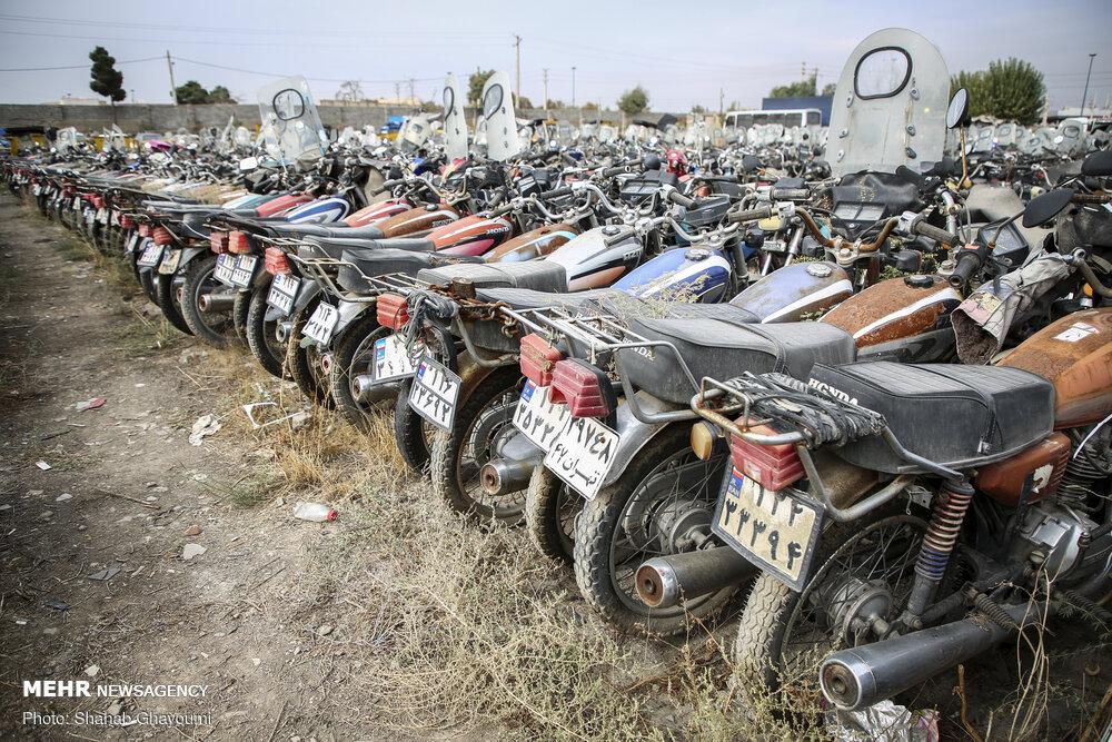 عدم استقبال مردم از طرح ترخیص موتورسیکلتهای رسوبی