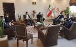 نشست صالحی امیری با رئیس هیات کشتی گیلان برگزار شد